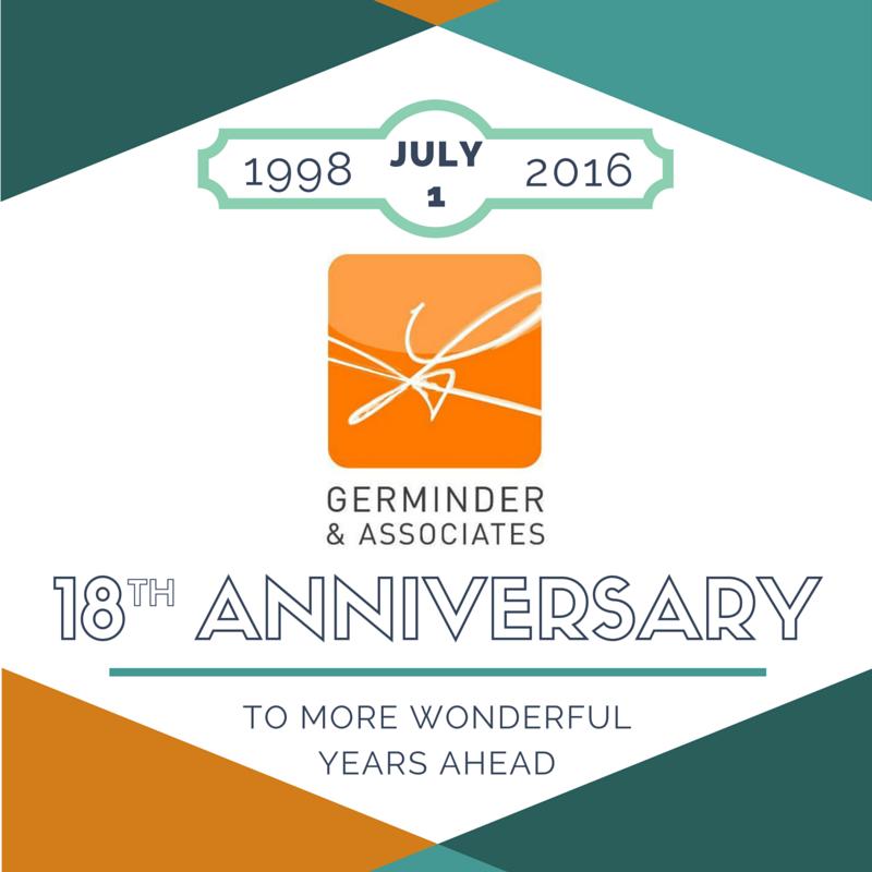 Germinder 18th anniversary