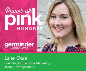 Lane Odle Power of Pink Honoree