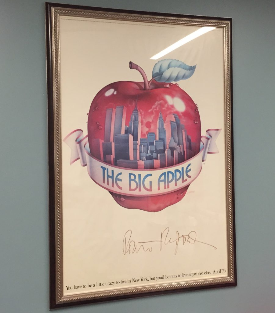 Big Apple Poster