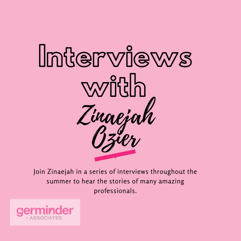Interviews with Zinaejah Ozier