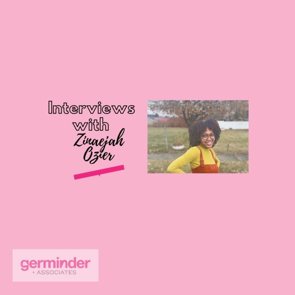 Interviews with Zinaejah Logo